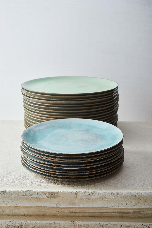 Celadon mix main course plates 28cm