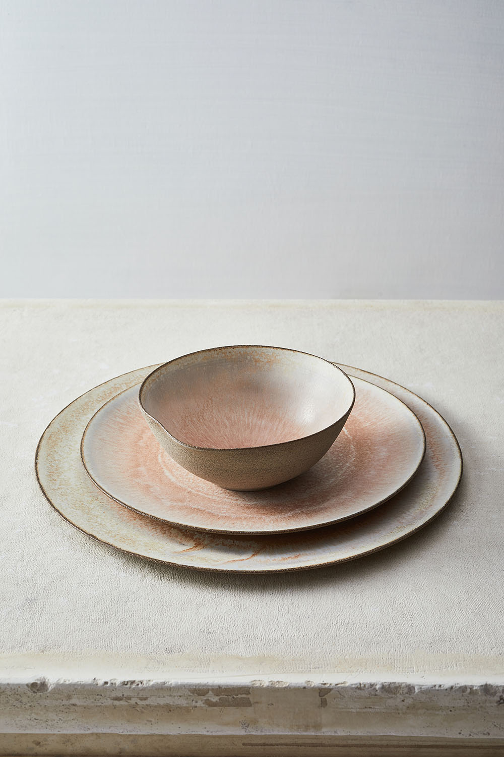Volcano pink one place setting