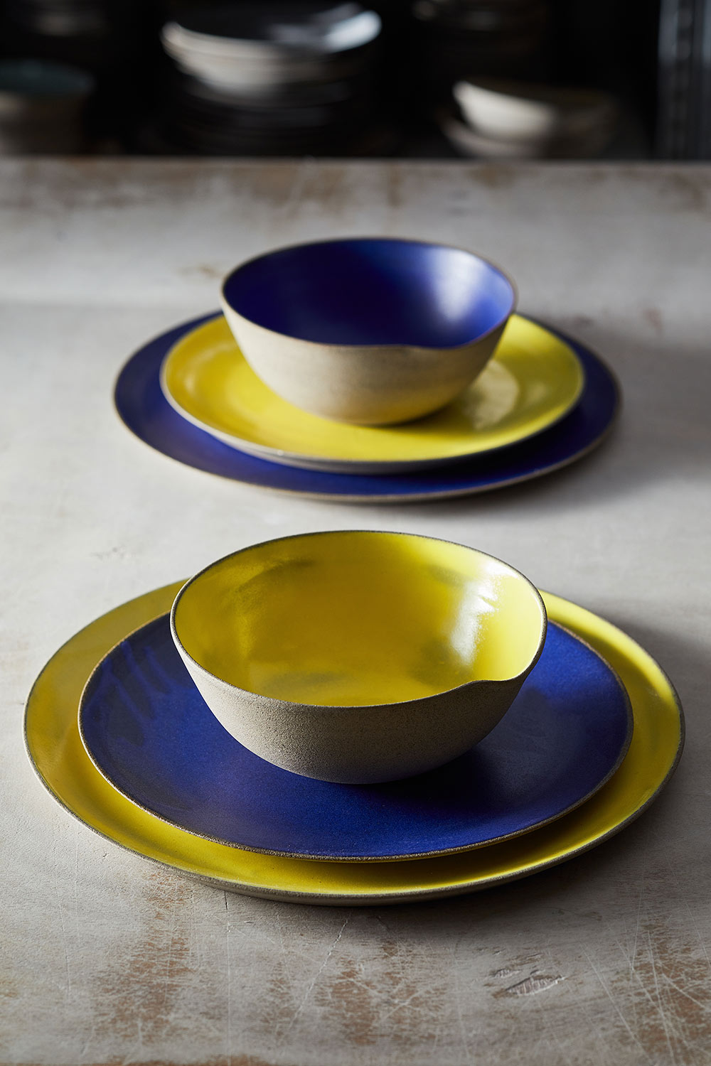 Night and Day Dinner Set - Vered Tandler Dayan (7)